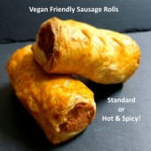 Hot & Spicy Vegan Sausage Roll
