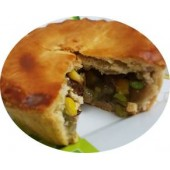 Wild Mushroom & Garden Vegetable Pie