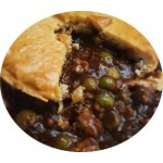 Trentside Beef & Vegetable Pie