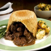 Beef & Ale Suet Pudding