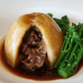 Lamb In Mint Gravy Suet Pudding