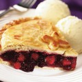 Apple & Blackberry Pie